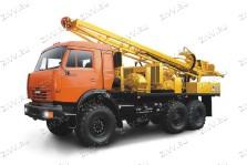 Буровая установка на базе КАМАЗ УРБ-2Д3